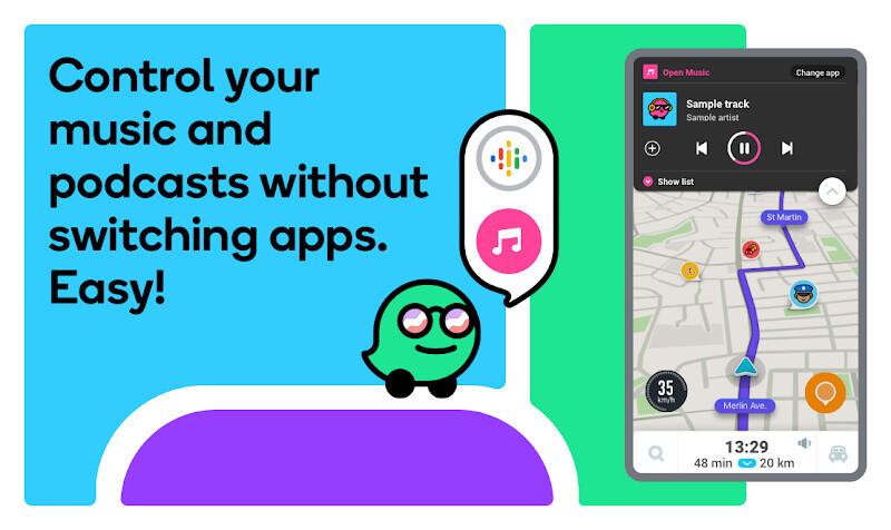 Waze - GPS, Maps, Traffic Alerts & Live Navigation Free HTC