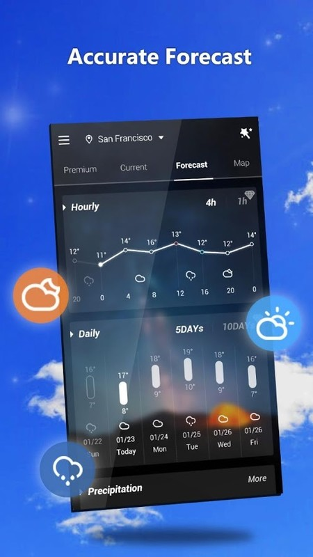 GO Weather - Widget, Theme, Wallpaper, Efficient Free Android App