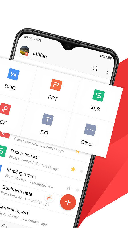 WPS Office - Word, Docs, PDF, Note, Slide & Sheet Free Android App