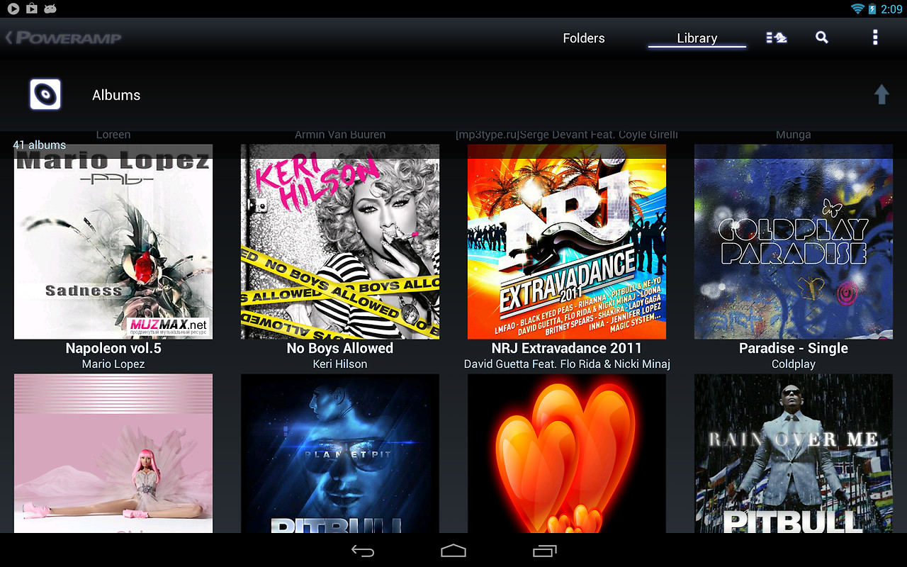 Poweramp Music Player (Trial) Free Samsung Infuse 4G App