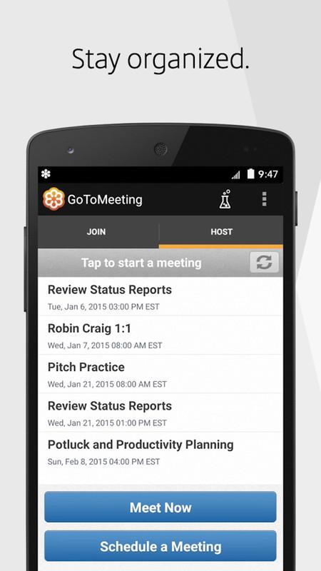 GoToMeeting Free Motorola XOOM App download - Download the