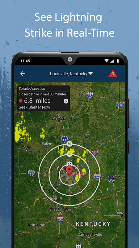 Weather by WeatherBug: Real Time Forecast & Alerts Free