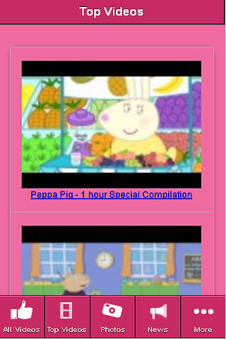 Peppa Pig All TV Episodes Free Android App download