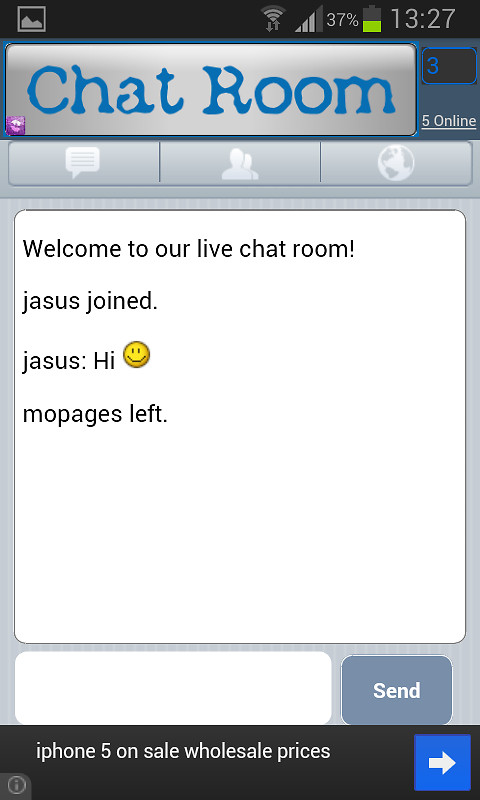free online chat room que