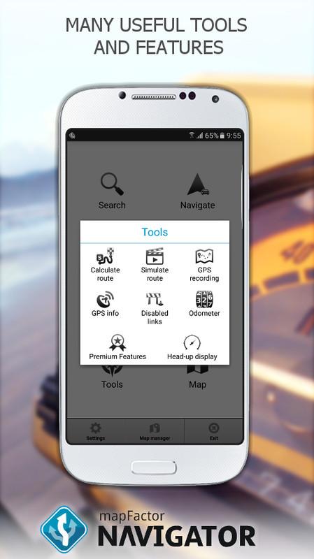 mapfactor gps navigation maps free android app download. Black Bedroom Furniture Sets. Home Design Ideas
