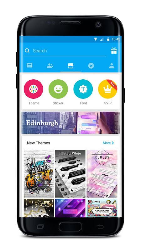 Go sms pro messenger, free themes, emoji free samsung galaxy y.