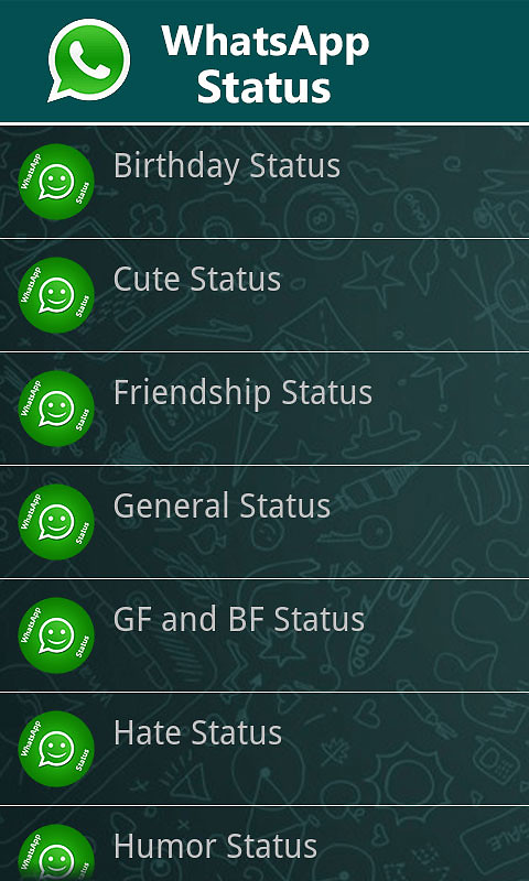 WhatsApp Status Messages Free Android App download ...