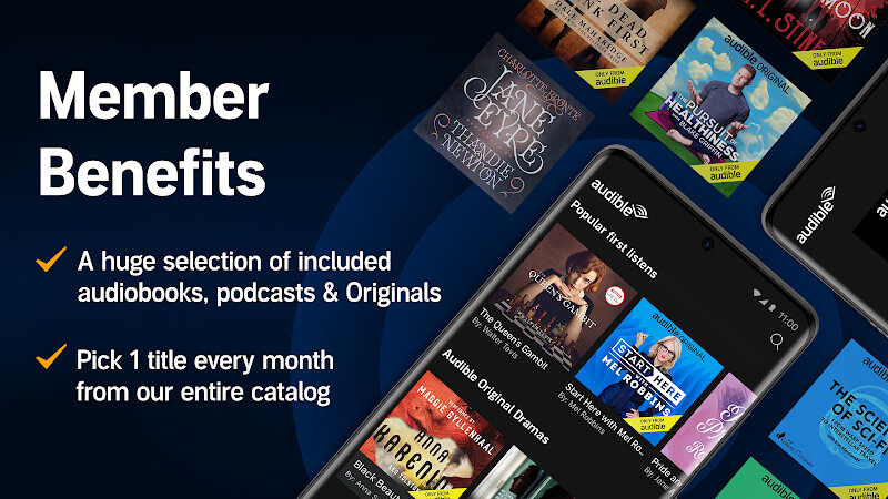 Audiobooks from Audible Free Samsung Galaxy S3 App download