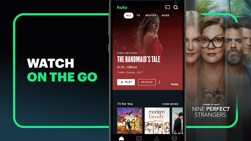 Hulu: Stream TV, Movies & more Free Android App download