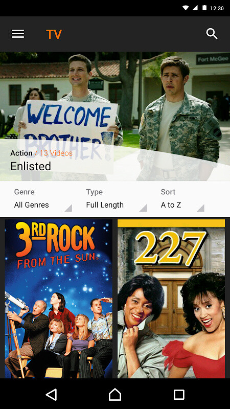 Crackle - Free TV & Movies Free Android App download