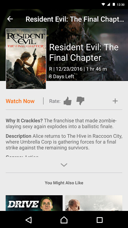 crackle free movies app download