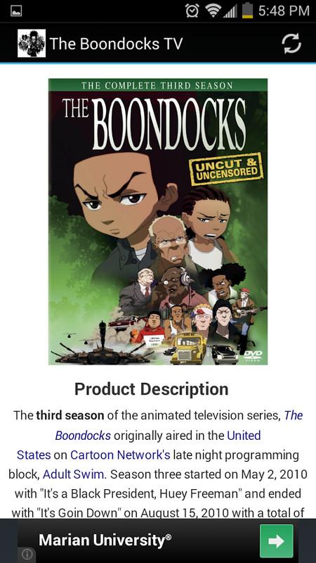 download boondocks full season 4