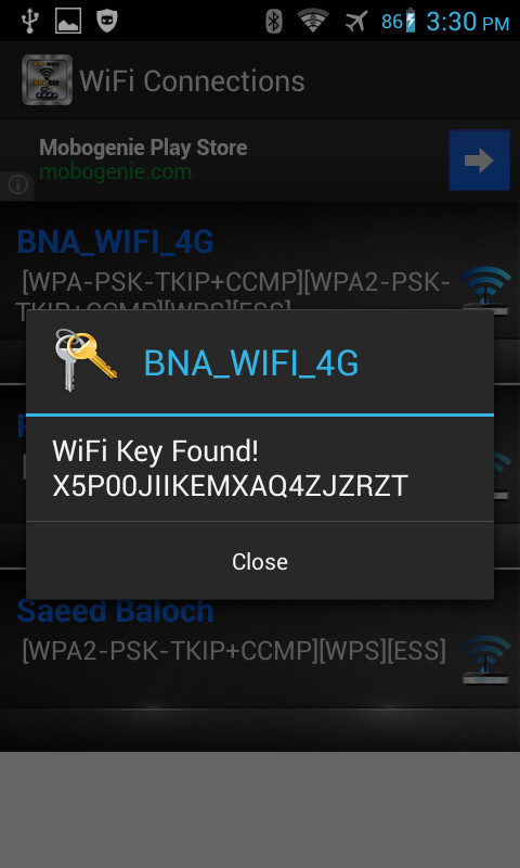 Bna WiFi Hacker Free Android App download - Download the Free Bna