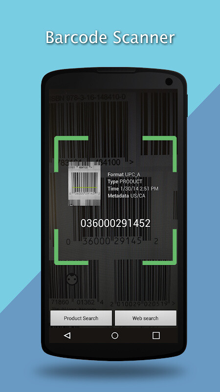 how to get your phone to scan a barcode