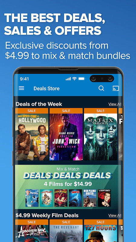 Vudu - Rent, Buy or Watch Movies with No Fee! Free LG