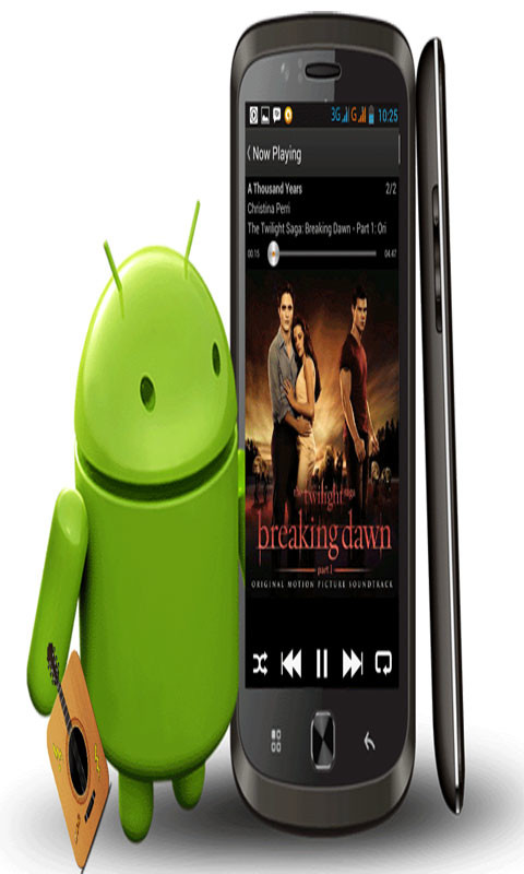 how to play music stored on android phone