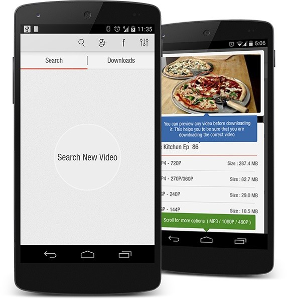 Videoder Free Android App download - Download the Free