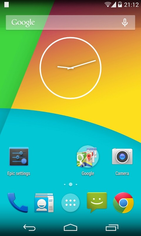 Epic Launcher (Lollipop) Free Android App download - Download the