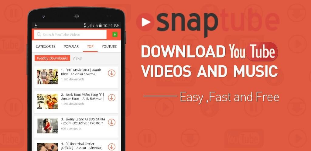 descargar snaptube para iphone 6 gratis