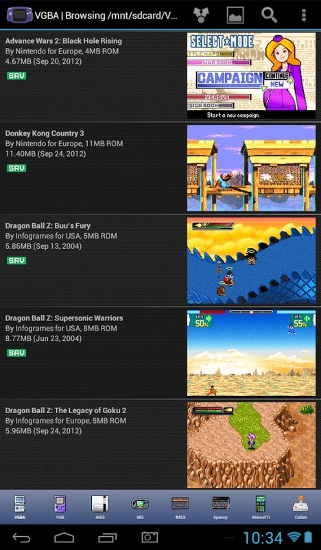 VGBA - GameBoy (GBA) Emulator Free Android App download