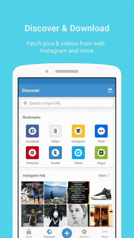 Gallery Vault - Hide Pictures Free HTC Explorer App download
