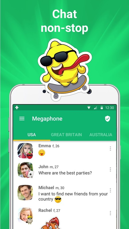 Frim ☆ chat for friends Free Android App download - Download the