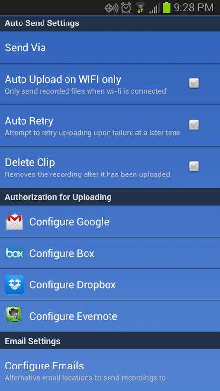 Best ways i can file a call on Google android not having app