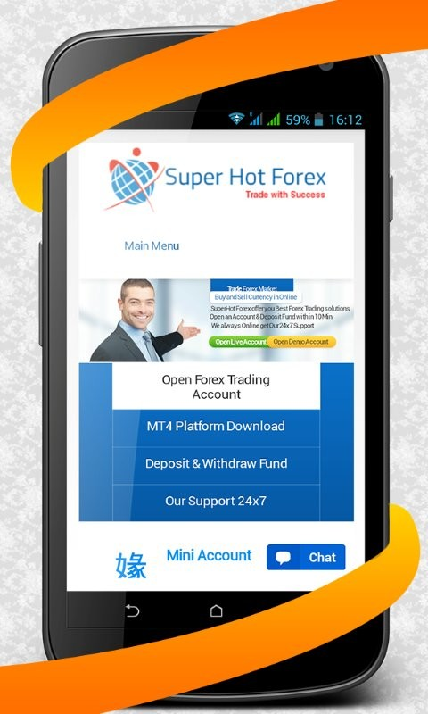 Hot forex open demo account