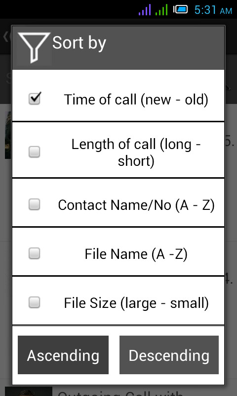 how to disable whatsapp call recording