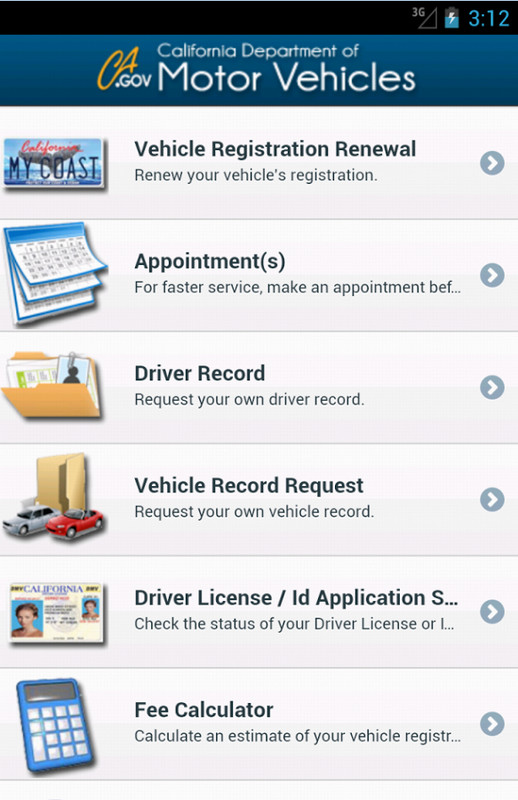 dmv now free android app download download the free dmv