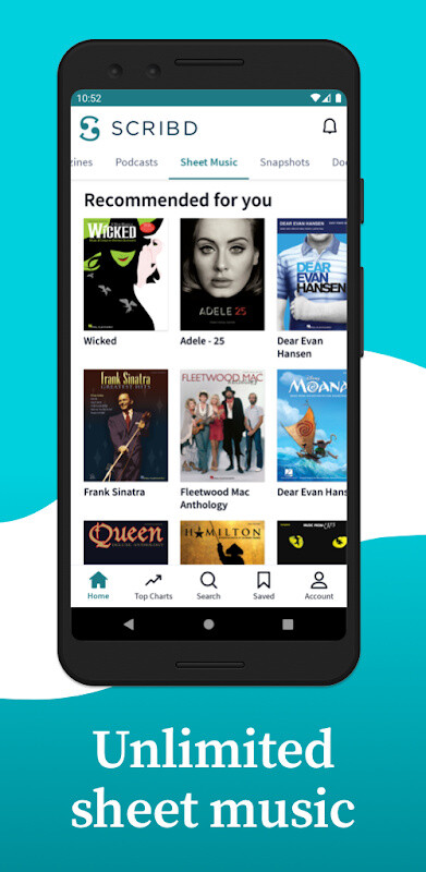 Scribd - Reading Subscription Free Samsung Galaxy Ace App download
