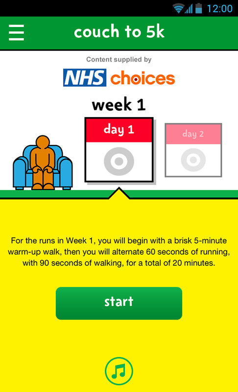 Change4life Couch To 5k Free Android App Download
