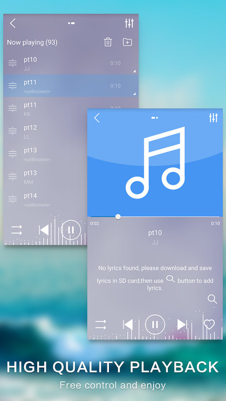 how to use and andriod phone as an mp3 player