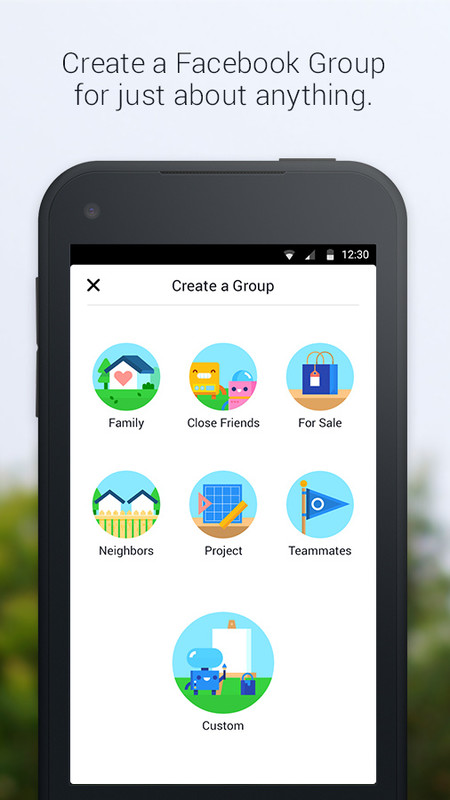 Facebook Groups Free Samsung Galaxy Y TV App download