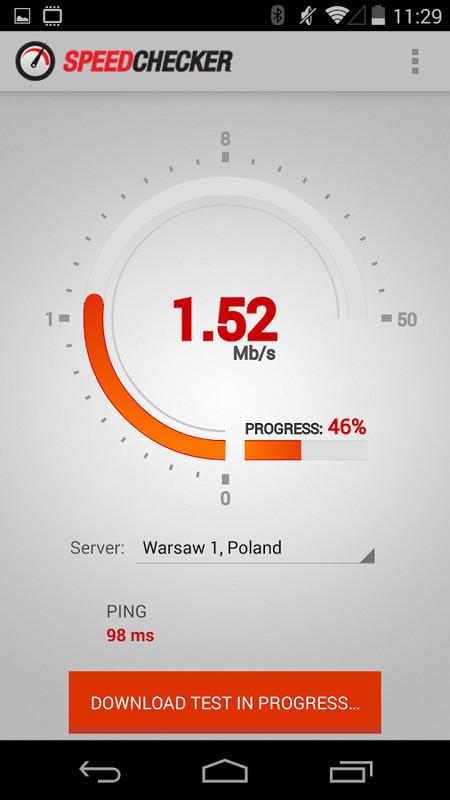 Internet Speed Test 3G,4G,Wifi Free HTC Sensation XL App