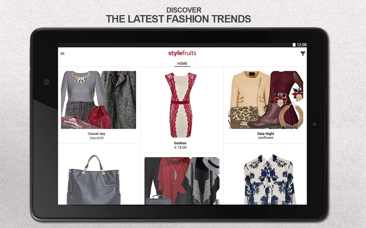 stylefruits: Fashion & Outfits Free HTC One XL App download