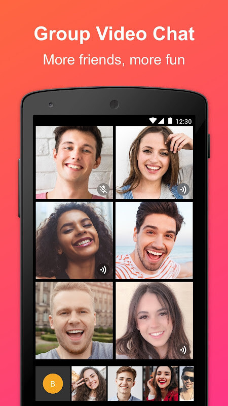 JusTalk - Free Video Calls and Fun Video Chat Free Android