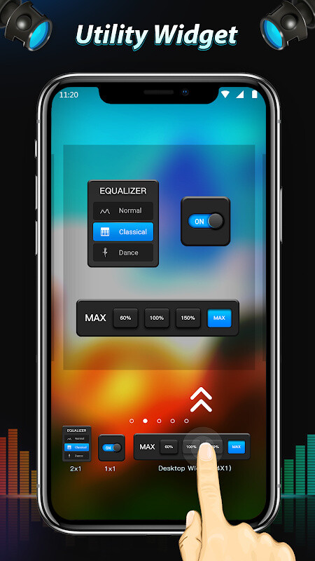 Equalizer & Bass Booster Free Samsung Galaxy S2 Duos App