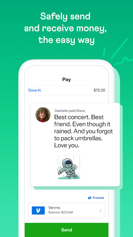 Venmo Mobile Wallet: Send & Receive Money Free HTC One X