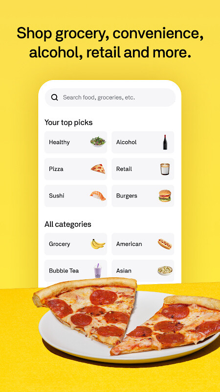 Postmates - Local Restaurant Delivery & Takeout Free Samsung Galaxy