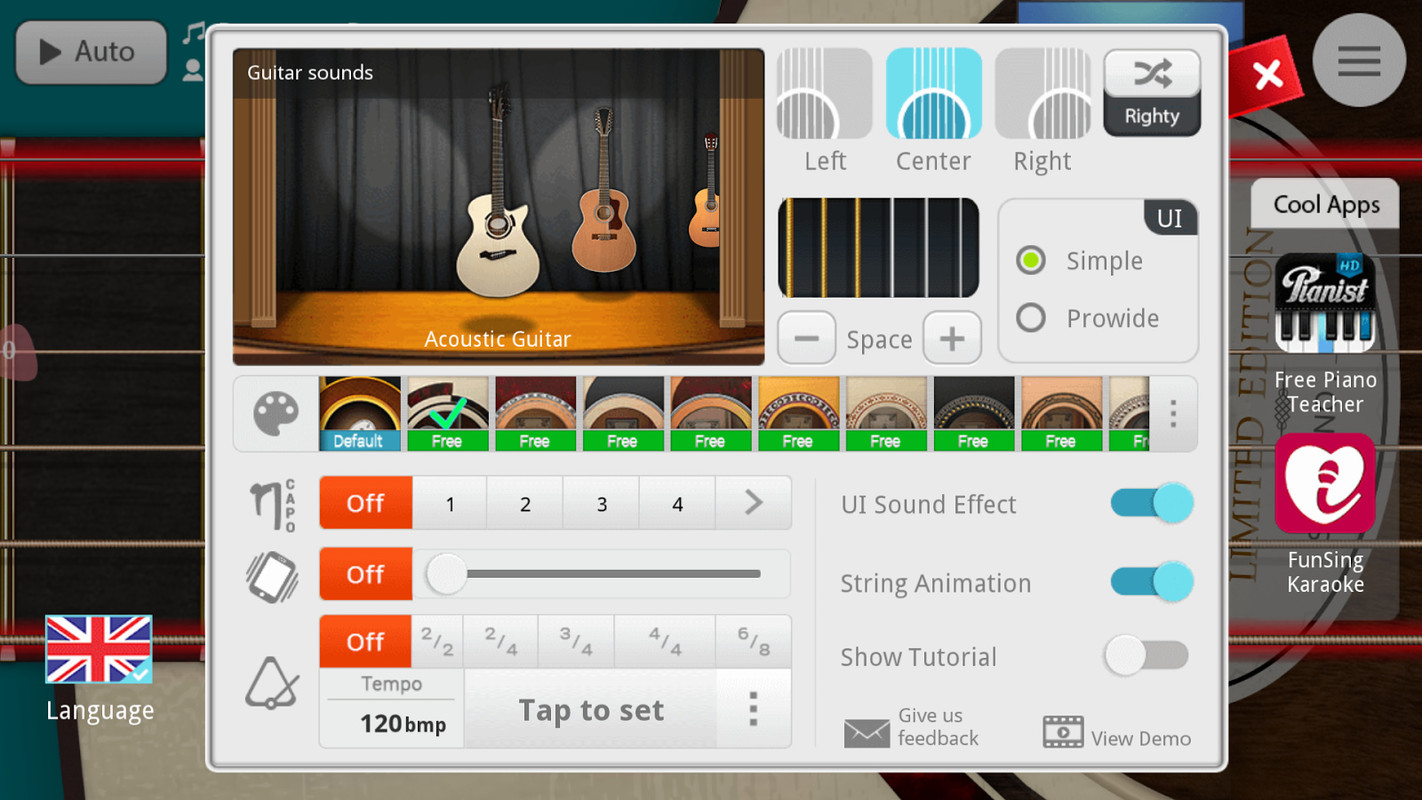Guitar + Free Samsung Galaxy Ace App download - Download the Free