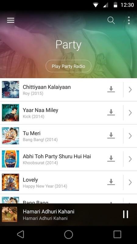 Saavn Music & Radio Free HTC Explorer App download