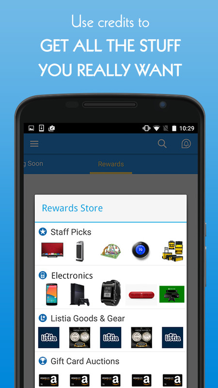 Listia - Get Free Stuff & Sell Free Android App download