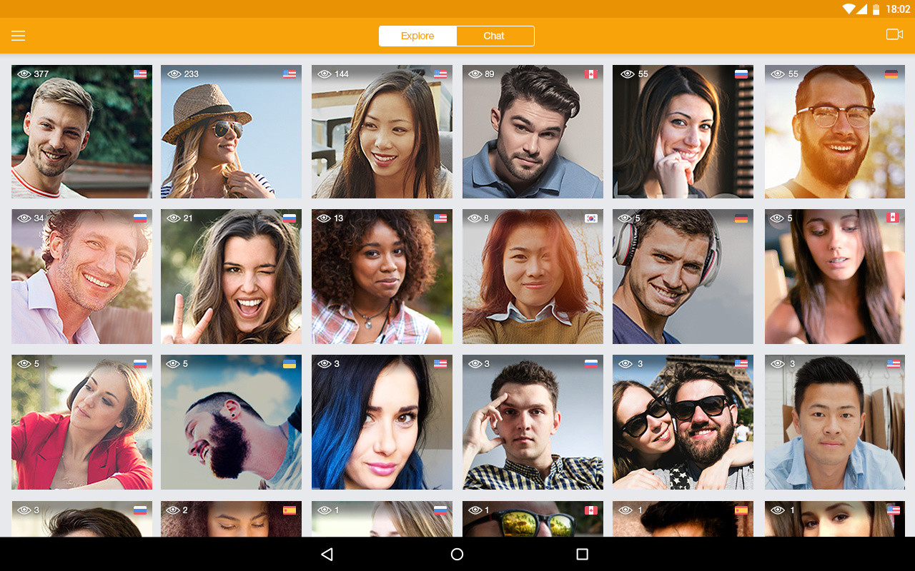 Live video chat online free