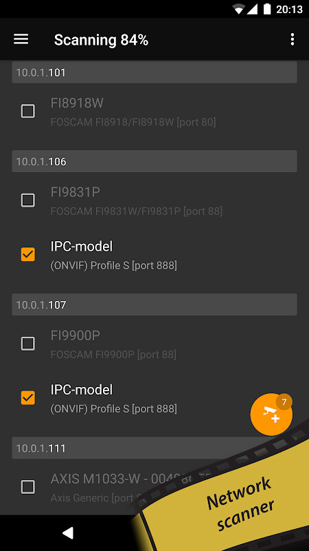 tinyCam Monitor FREE - IP camera viewer Free LG Optimus Pad