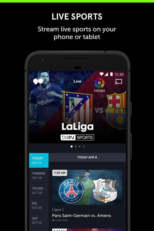 go90 - Stream TV & Live Sports Free Samsung Galaxy S2 App