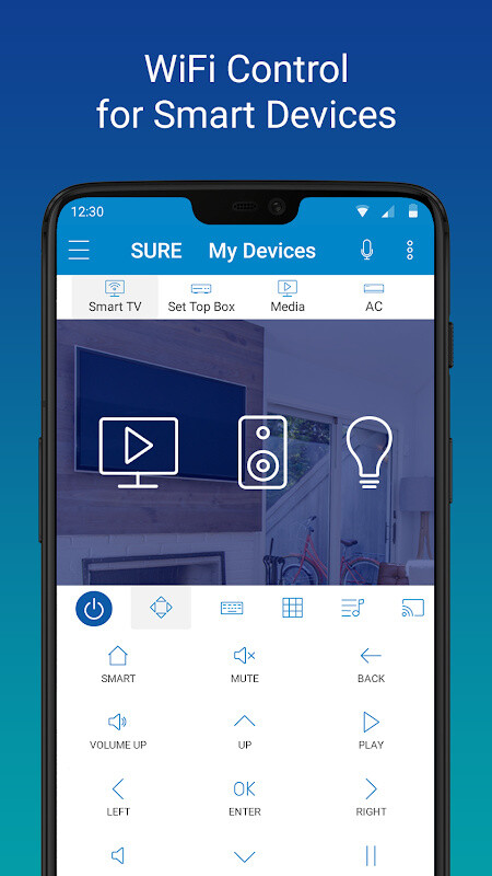 SURE - Smart Home and TV Universal Remote Free Samsung