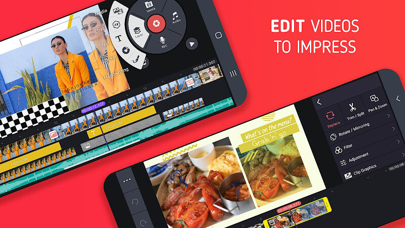 KineMaster - Video Editor Free LG Revolution App download