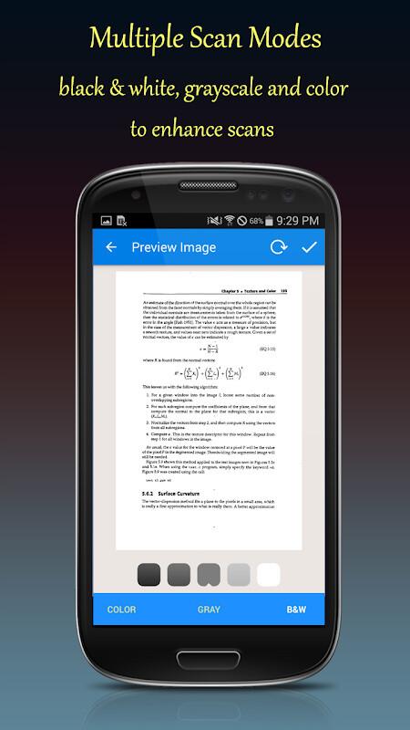 Fast Scanner : Free PDF Scan Free Samsung Galaxy Q App