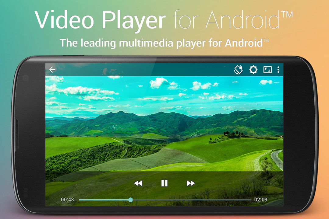 how to change default video player android